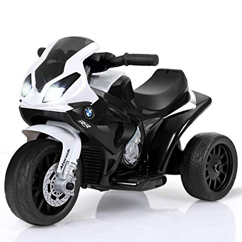 Costzon Kids Ride on Motorcycle, 6V Battery Powered 3 Wheels...