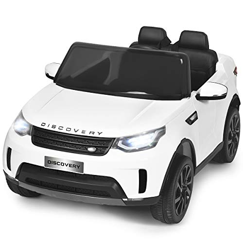 Costzon 2-Seater Ride on Car, 12V Licensed Land Rover...