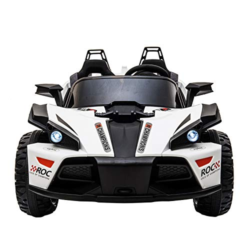sopbost Ride on Car for Kids 12V 10AH 2 Seater Ride-on...