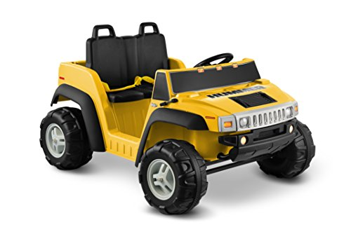 Kid Motorz Hummer H2 12V Battery Powered Jeep - Yellow