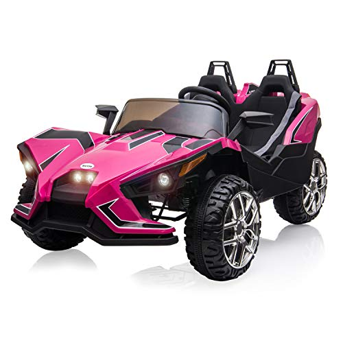BAHOM Kids Ride On Car 2 Seats with Remote Control, 12V Kids...