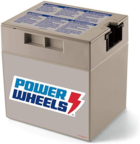 Power Wheels 12-Volt Rechargeable Replacement Battery,...