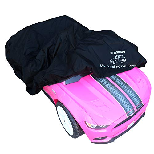 Emmzoe Ride-On Car Cover for Kids Electric Vehicle -...