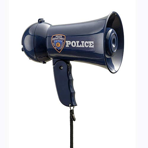 Dress Up America Pretend Play Police Officer's Megaphone...