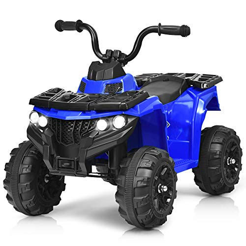 Costzon Ride on ATV, 6V Battery Powered Kids Electric...