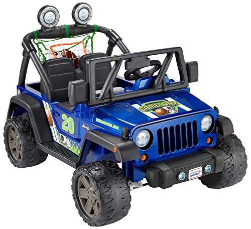 Power Wheels Gameday Jeep Wrangler Sports Themed Battery...