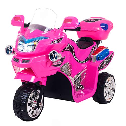 Ride on Toy, 3 Wheel Motorcycle for Kids, Battery Powered...