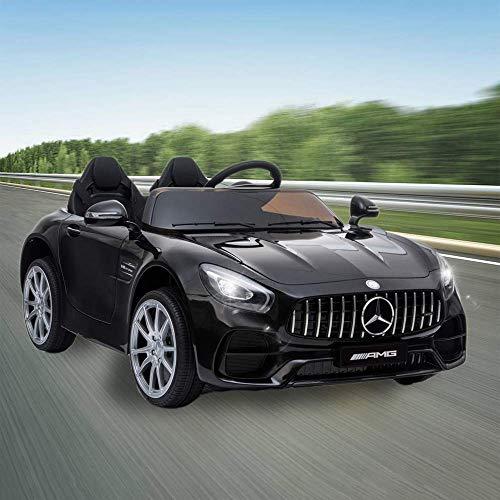 JOYBASE 12V Electric Ride On Car, Licensed Benz Cars for...