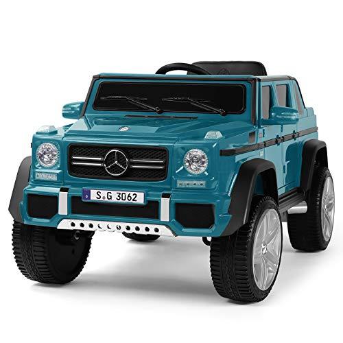 Fitnessclub 12V Kids Ride OnCar Licensed Mercedes-Benz...
