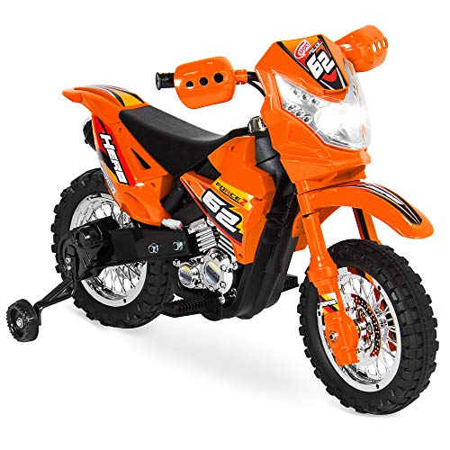 Best Choice Products Kids 6V Ride On Motorcycle w/ Treaded...