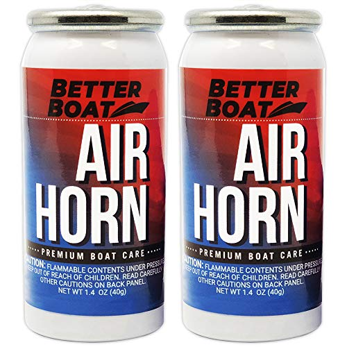 Air Horn for Boating Safety Canned Boat Accessories | Marine...
