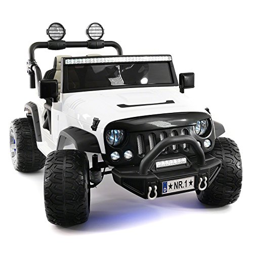 Explorer 2 (Two) Seater 12V Power Kids Ride-On Car Truck...