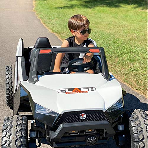 UTV White Adjustable SEAT 4X4 Sport Edition 2 Seater 24VOLTS...