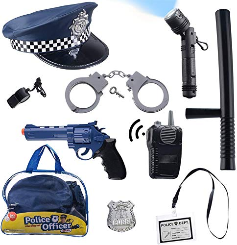 Born Toys (11 PCS) Police Hat and Toys role play set for...