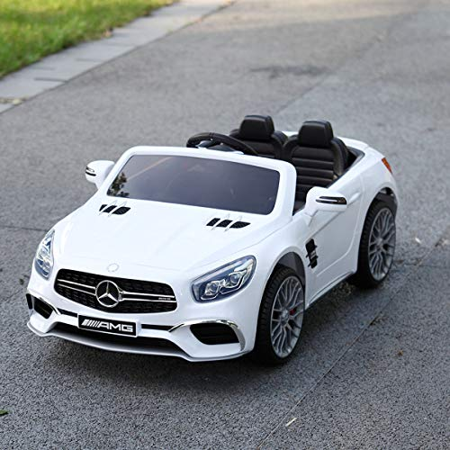 JAXPETY Mercedes Benz 12V Electric Kids Ride On Car Licensed...
