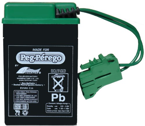 Peg Perego 6 Volt Replacement Battery for Peg Perego...