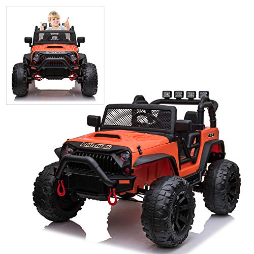 24V Kids Electric Ride On Car with Remote Control, 200W...
