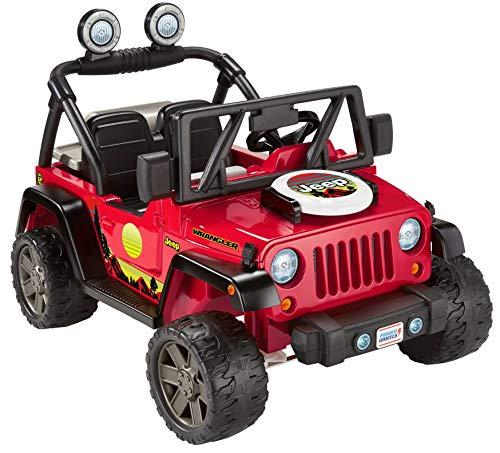 Power Wheels BBQ Fun Jeep Wrangler 12V Battery powered Ride...