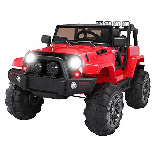 TOBBI Kids Ride on Truck Style 12V Battery Powered Electric...