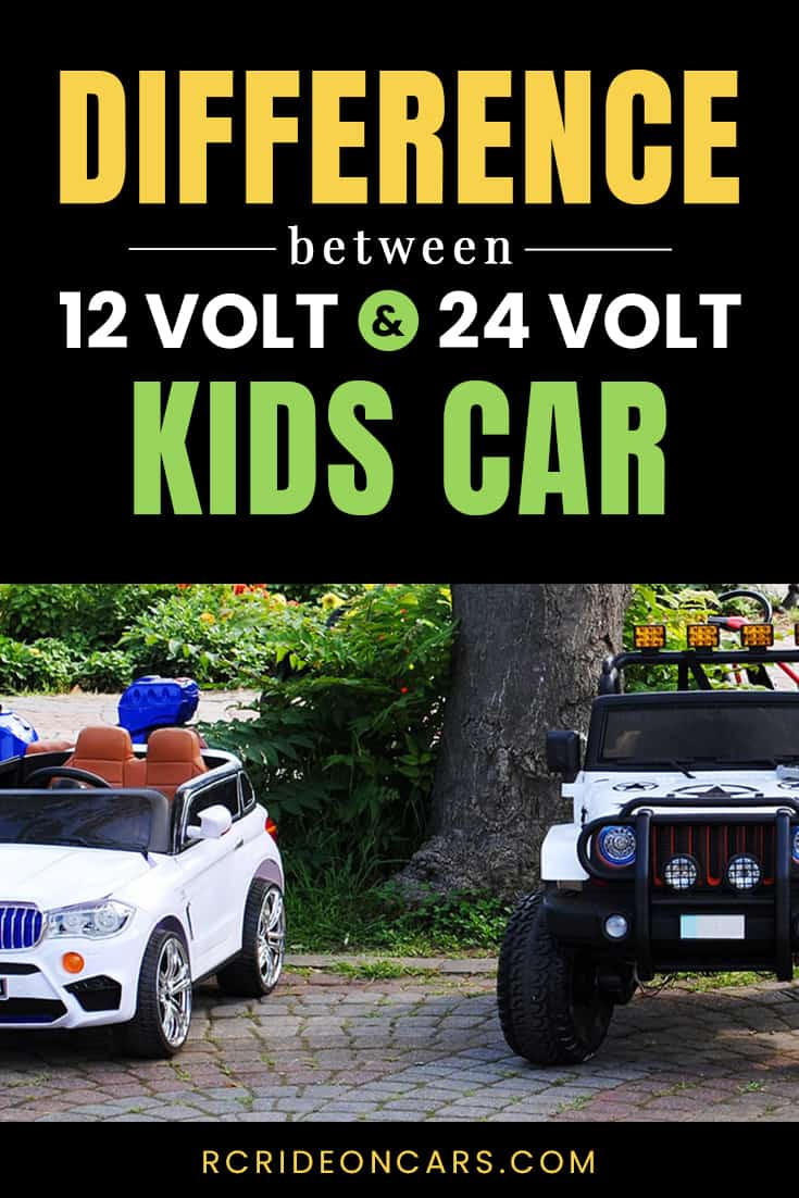 What's the difference between 12V and 24V cars