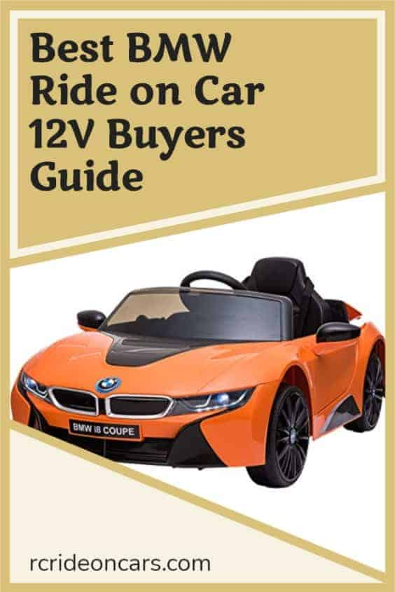 Best BMW Ride on Car 12V Buyers Guide