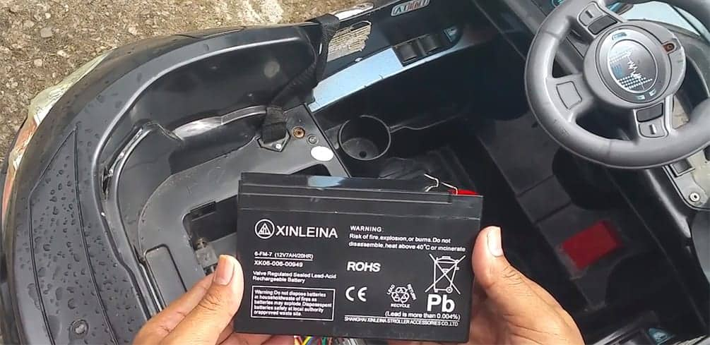 Replacement 12V and 24V Ride on Batteries
