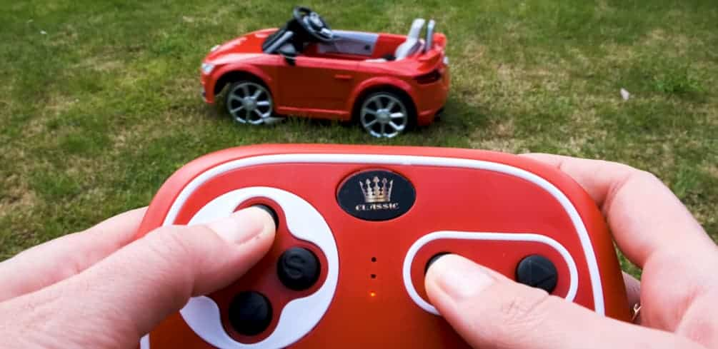 Childrens Electric Cars Parental Control