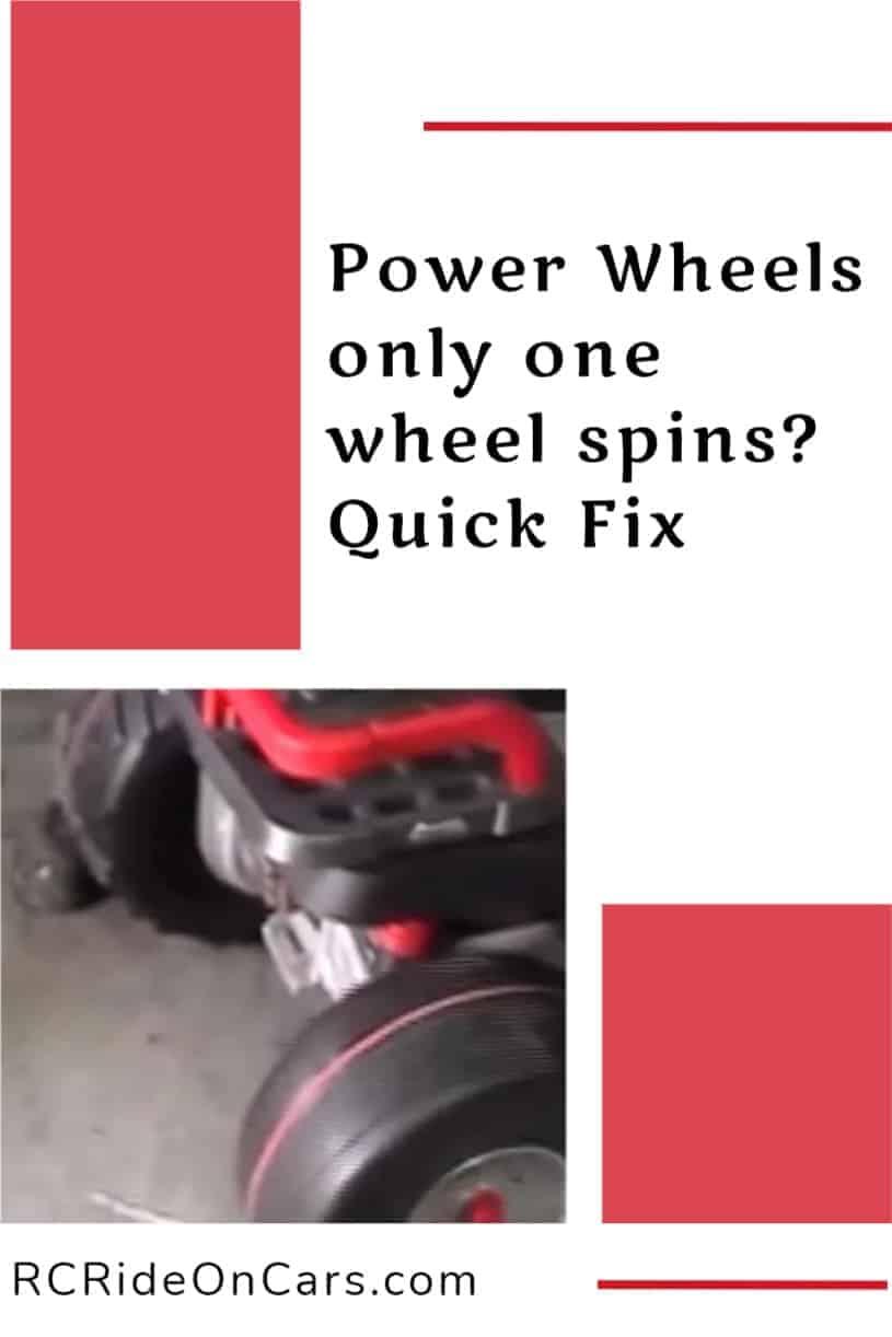 One Wheel Spinning
