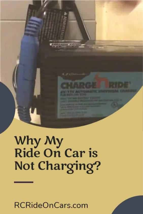 Electric Ride on Car Not Charging