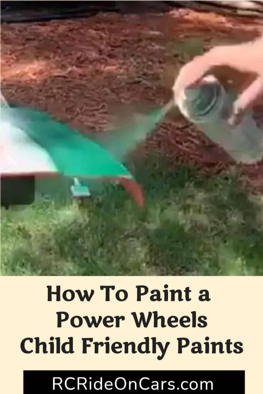 Paint Power Wheels