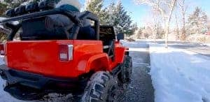 Power Wheels In Snow