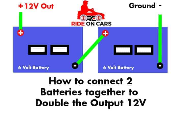 How to Wire 2 Batteries for Power Wheels