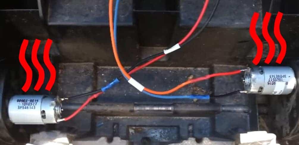 Power Wheels Motor Overheating