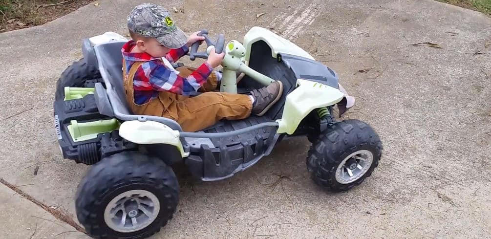 Power Wheels Only Goes in Reverse