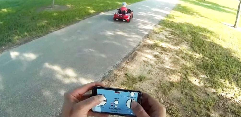 Convert Power Wheels to Remote Control