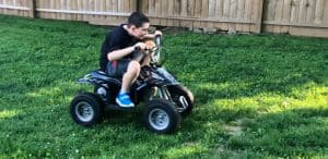 Can Power Wheels Go On Grass