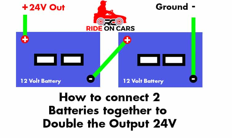 How to Wire 2 12V Batteries for Power Wheels