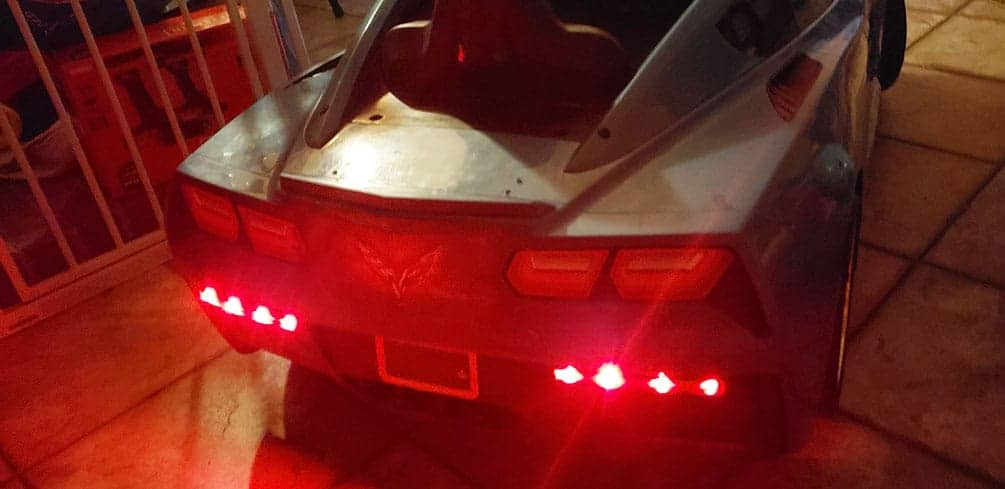 LED Taillights on Power Wheels