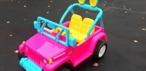 Barbie Jeep Car for Kids